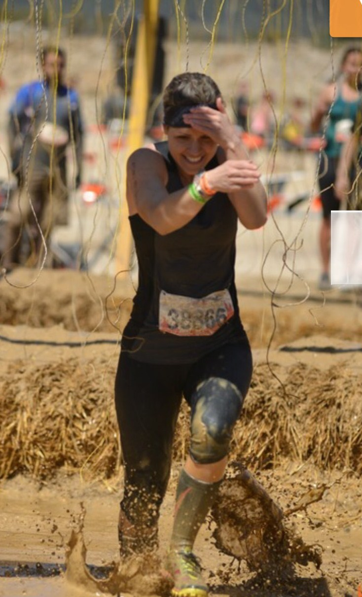 Awesome job Michelle on completing the Tough Mudder! Do those electrodes feels as bad as 1 minute of burpees?!